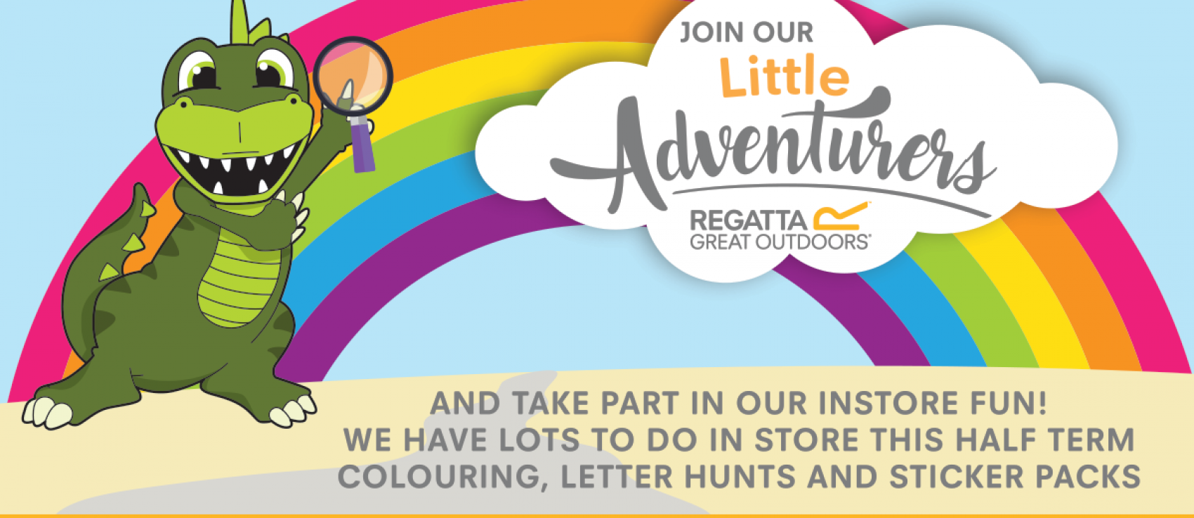Regatta's Half Term Activities For Your Little Adventurers banner