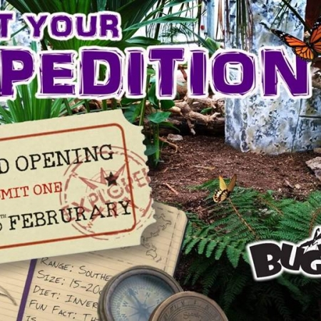 Bugtopia Phase Two Open's This Weekend!